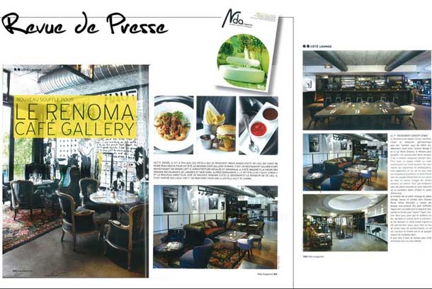 Renoma Café, the « Place to Be »