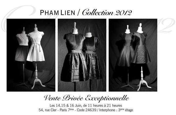 Vente Privée Lien Pham Collection 2012
